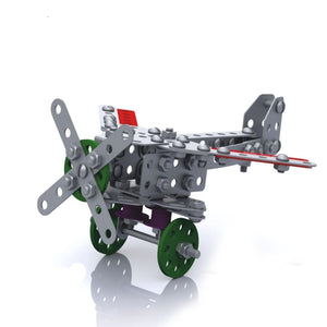 Kids Metal Constructor Airplane - Just Be Special