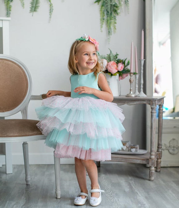 Monica Handmade Princess Toddler Girls Dress - Just Be Special