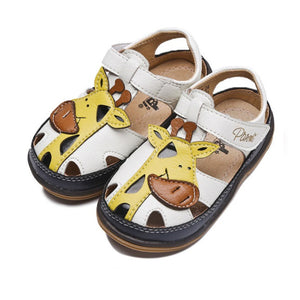 Boys Giraffe Sandals - Just Be Special