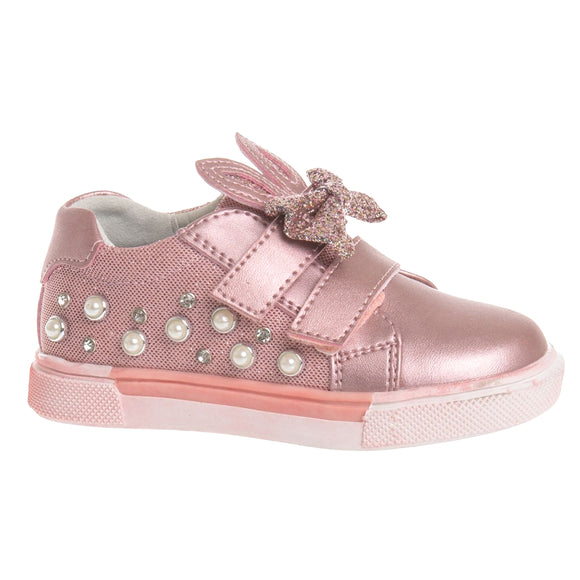 Toddler Girls Cute Bunny Design Sneakers Clearance Toddler 6.5 - 8 - Just Be Special
