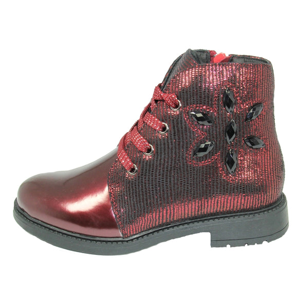 Youth Girls Spring Boots Clearance Youth 4.5 - Just Be Special