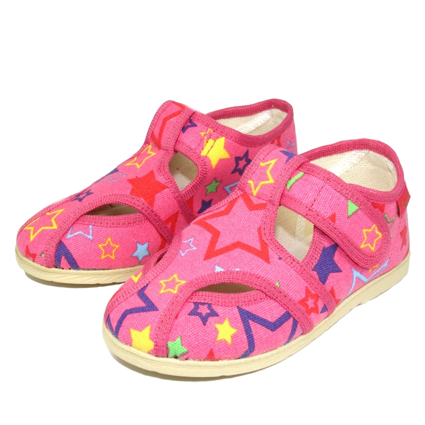 22cd6a52f48 Toddler Girls Pure Cotton Orthopedic Cute Design Toddler Slippers - Just Be  Special ...