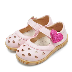 Toddler Girls Heart Design Summer Sandals Toddler 8 - Just Be Special