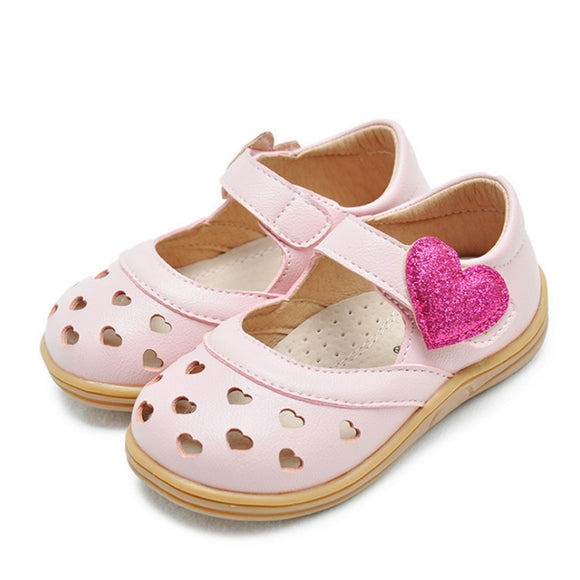 Toddler Girls Heart Design Summer Sandals - Just Be Special