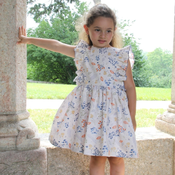 Melissa Girls Ruffle Handmade Dress - Just Be Special
