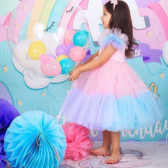Jessica Handmade Princess Toddler Girls Dress - Just Be Special