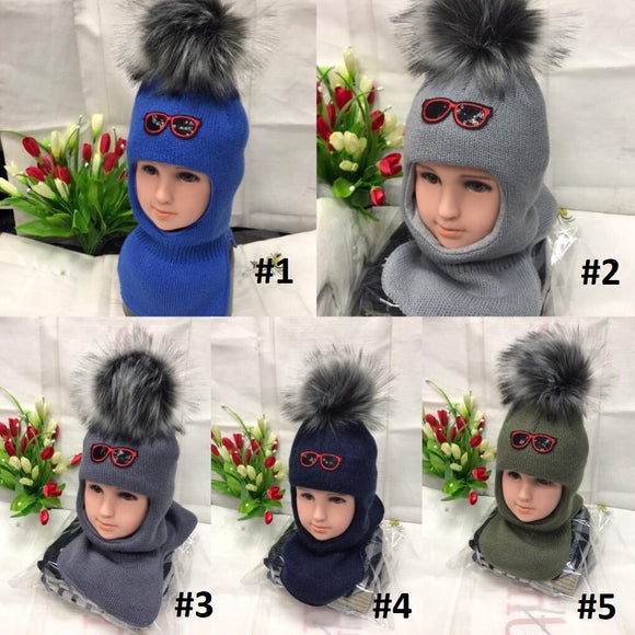 Toddler Boys Winter Warm Balaclava Hat 1 - 3 years - Just Be Special