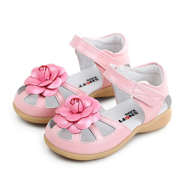 Girls Flower Summer Sandals
