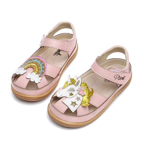 Girls Pony Rainbow Sandals - Just Be Special