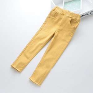 Toddler Girls Summer Soft Jeans Clearance 5-6 / 8-9 years - Just Be Special