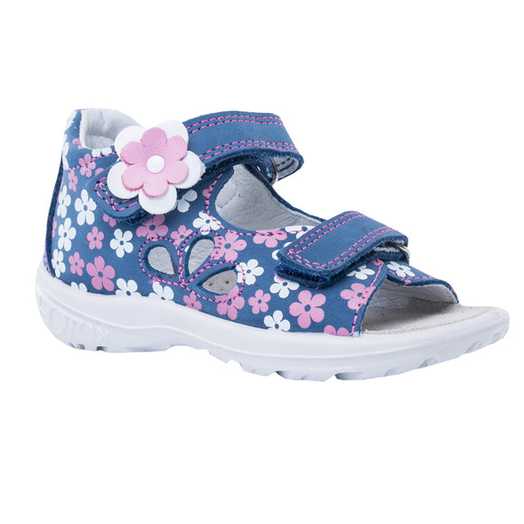 Toddler Girls Kotofey Flower Design Leather Sandals Toddler 7.5 / 9 - Just Be Special