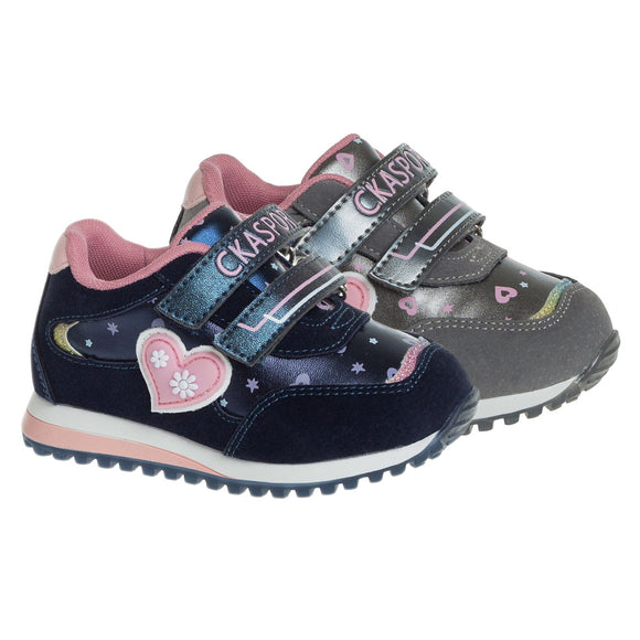Toddler Girls Fall Spring Cute Design Sneakers Toddler 6 / 6.5