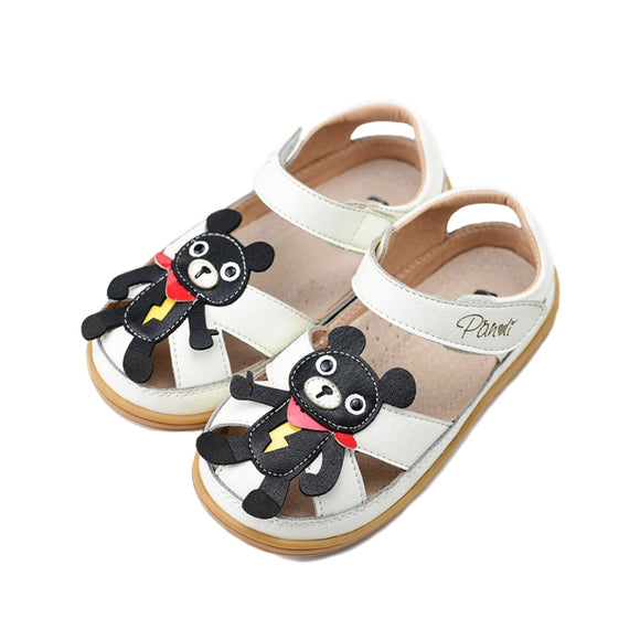 Toddler Boys Summer Bear Sandals - Just Be Special