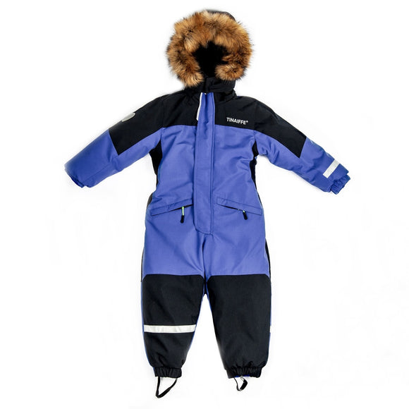 Toddler Boys Winter Waterproof Dark Blue Overall 3 / 5-6 years - Just Be Special