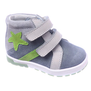 Toddler Boys Kotofey Leather Star Design Boots Toddler 3.5 / 4 - Just Be Special