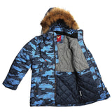 Boys Winter Warm Genuine Fur Colorful Jacket 8 / 9 years - Just Be Special
