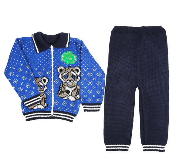 Toddler Boys Wool 2-Piece Set 9-12m - Just Be Special