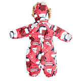 Toddler Girls Winter Waterproof Penguin Design Overall 12m - 4 years - Just Be Special