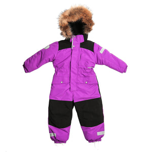 Toddler Girls Winter Waterproof Purple Overall 4 years - Just Be Special