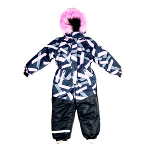 Girls Winter Warm Colorful Membrane Overall 9 / 10 years - Just Be Special