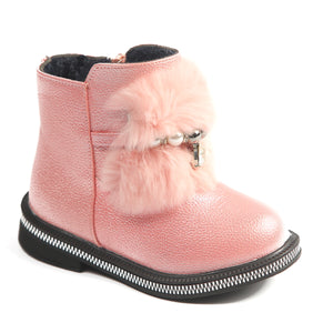 Toddler Girls Stylish Design Sparkle Spring Boots Toddler 7 / 8 - Just Be Special
