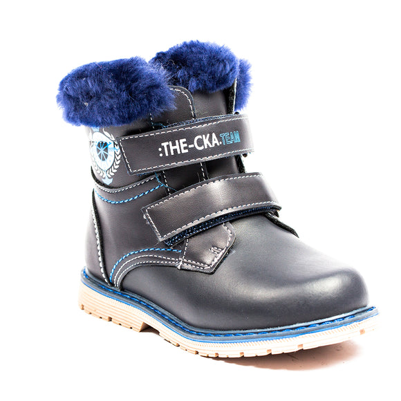 Toddler Boys Warm Winter Genuine Sheep Wool Waterproof Boots Toddler 6.5 / 7 / 8 / 9 - Just Be Special