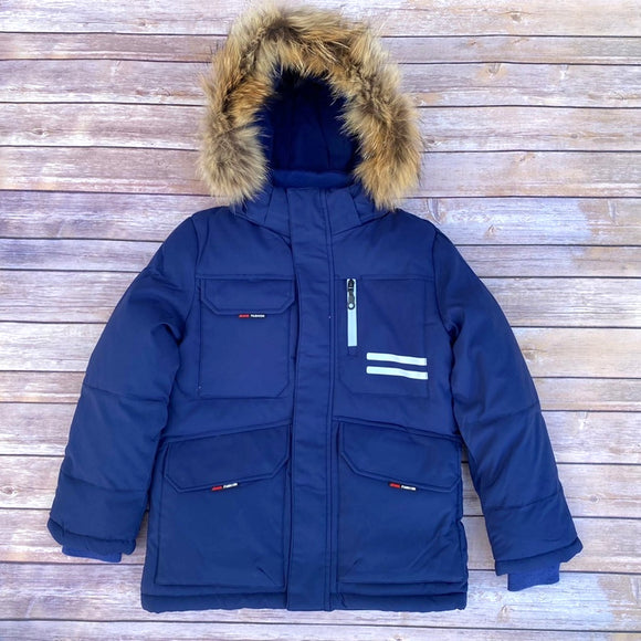 Boys Winter Warm Genuine Fur Jacket 10 / 11 / 12 / 13-14 years - Just Be Special