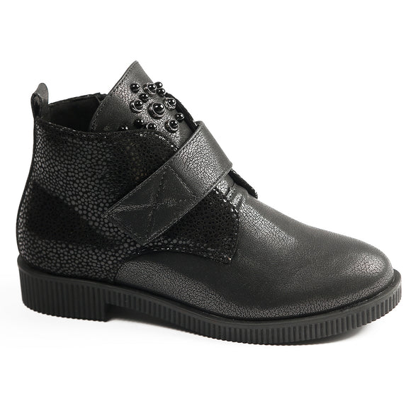 Youth Girls Spring Stylish Diamond Boots Youth 3 / 4 - Just Be Special