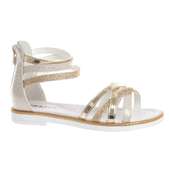 Youth Girls Summer Sandals Clearance Youth 4.5 - Just Be Special