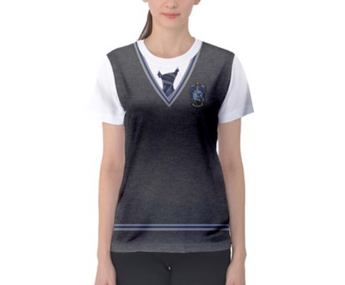 Women's Ravenclaw Harry Potter Inspired ATHLETIC Shirt
