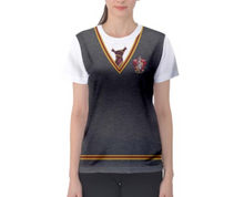 Women's Gryffindor Harry Potter Inspired ATHLETIC Shirt
