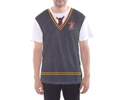 Men's Gryffindor Harry Potter Inspired ATHLETIC Shirt