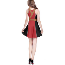 Deadpool Inspired Sleeveless Dress