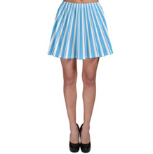 Blue Dapper Dan Inspired Skater Skirt