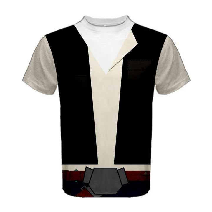 Men's Han Solo Star Wars Inspired ATHLETIC Shirt