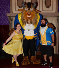 Beauty and the Beast Belle Inspired Skater Dress