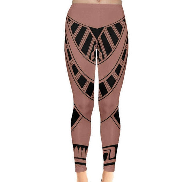 Maui Moana Inspired Leggings