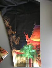 Great Movie Ride Chinese Theater Nighttime Inspired Capri Leggings