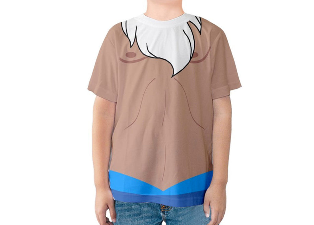 Kid's King Triton The Little Mermaid Inspired Shirt