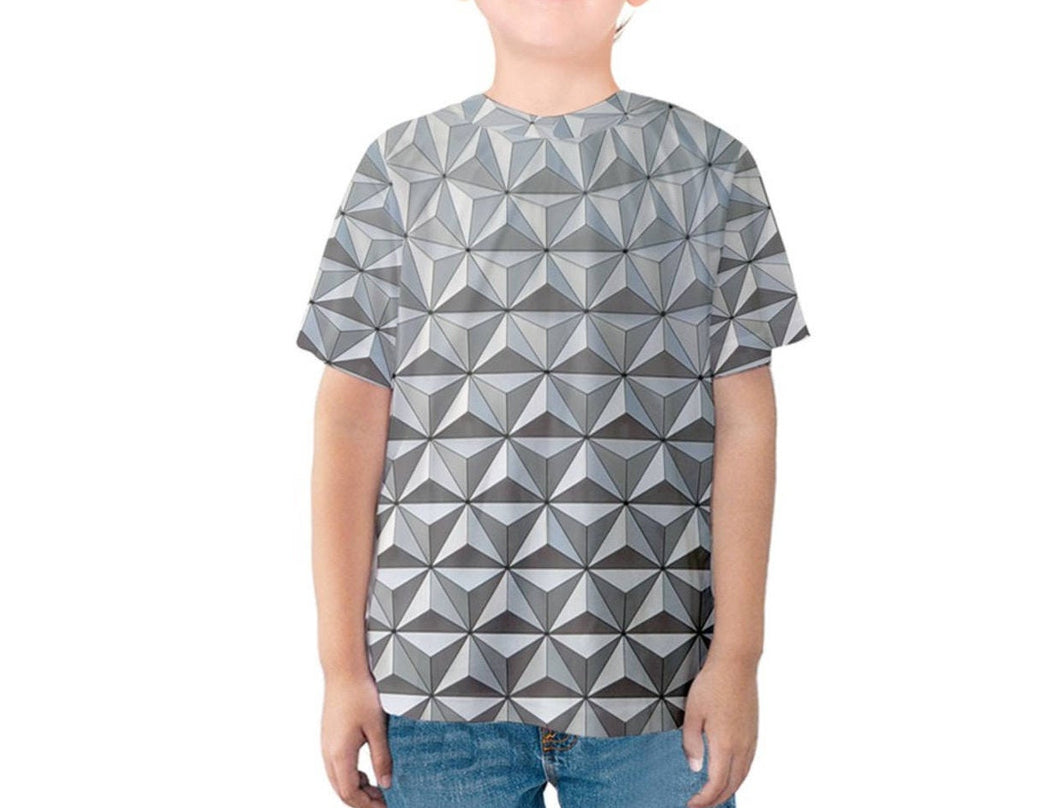 Kid's Spaceship Earth Epcot Inspired Shirt