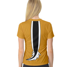 Women's Chip and Dale Dale Inspired V-neck ATHLETIC Shirt