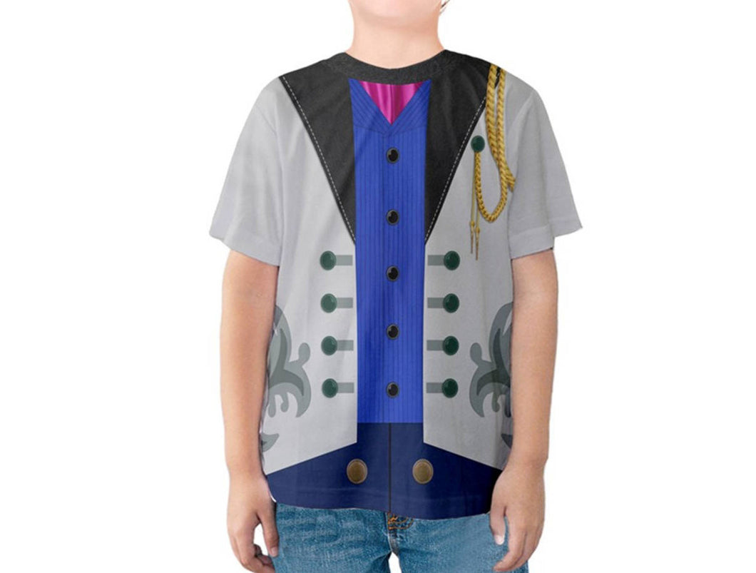 Kid's Hans Frozen Inspired Shirt