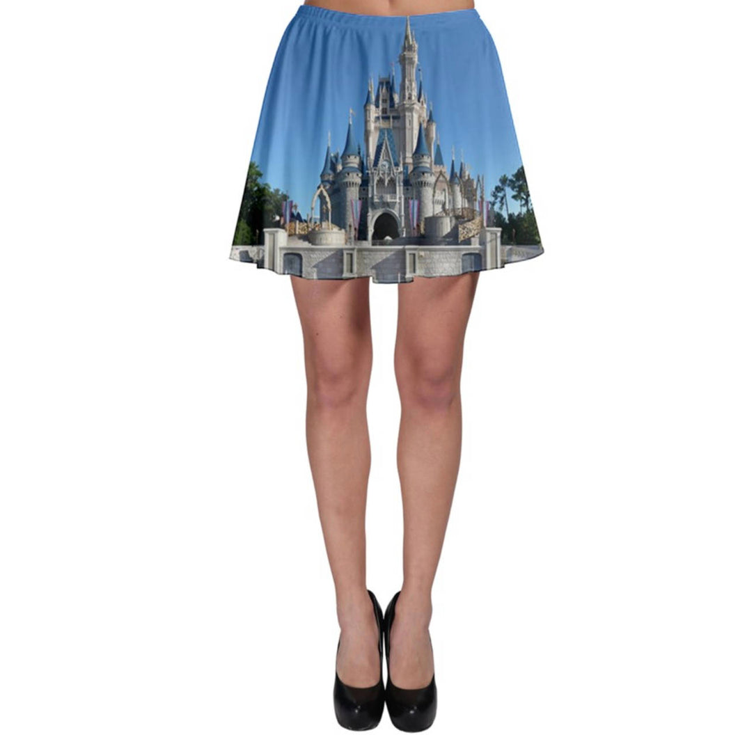 Cinderella Castle Inspired Skater Skirt