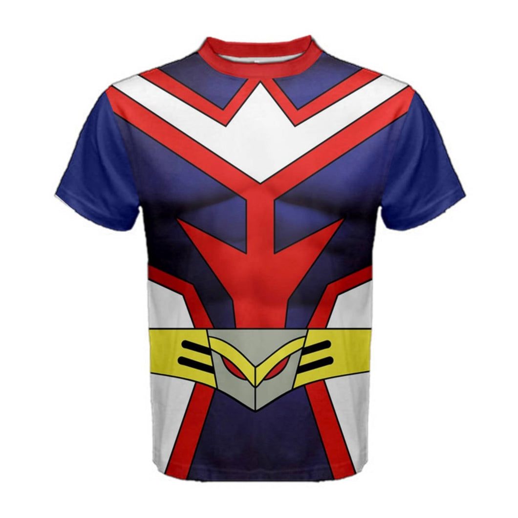 Men's All Might My Hero Academia Inspired Shirt