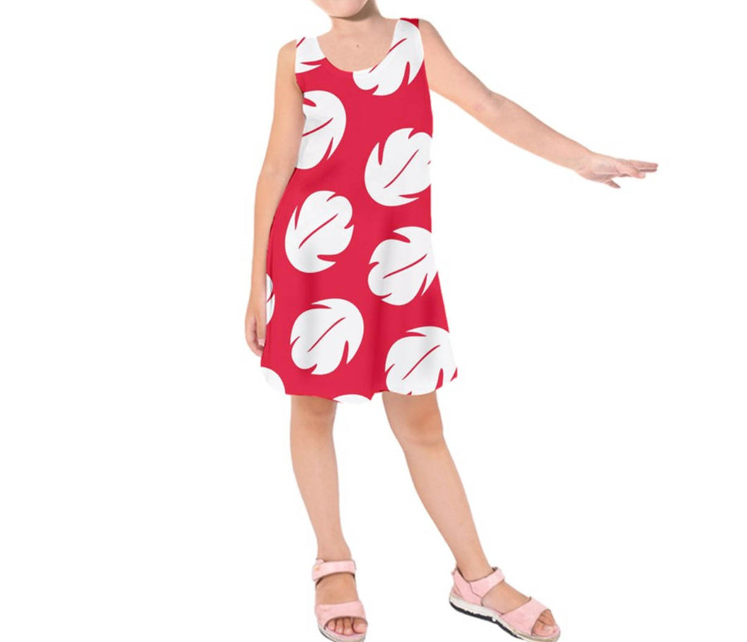 Kid's Lilo and Stitch Inspired Sleeveless Dress