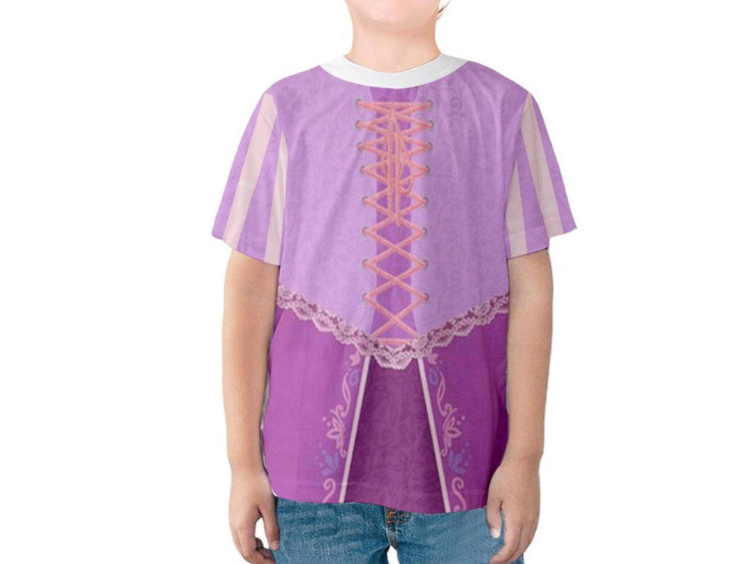Kid's Rapunzel Tangled Inspired Shirt