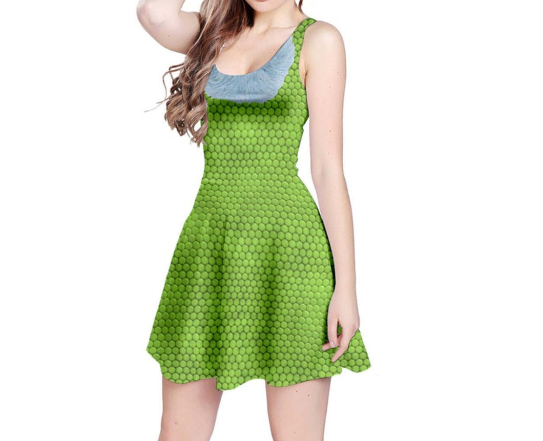 Celia Monsters Inc Inspired Sleeveless Dress