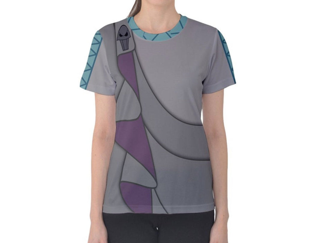Women's Hades Hercules Inspired ATHLETIC Shirt
