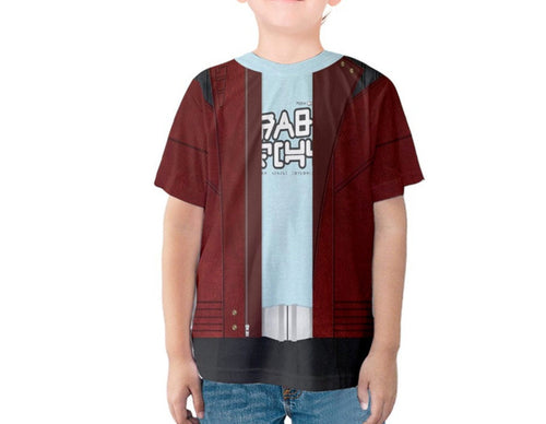 Kid's Star Lord Guardians of the Galaxy Inspired Shirt