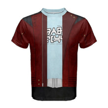 Men's Star Lord Guardians of the Galaxy Inspired ATHLETIC Shirt
